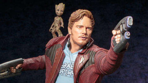 "Image for See the Peter Quill figure from ""Guardians of the Galaxy Vol. 2"""
