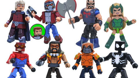 Image for Marvel Animated Minimates Series 9 Revealed, Including Symbiote Spider-Man, Star-Lord and More