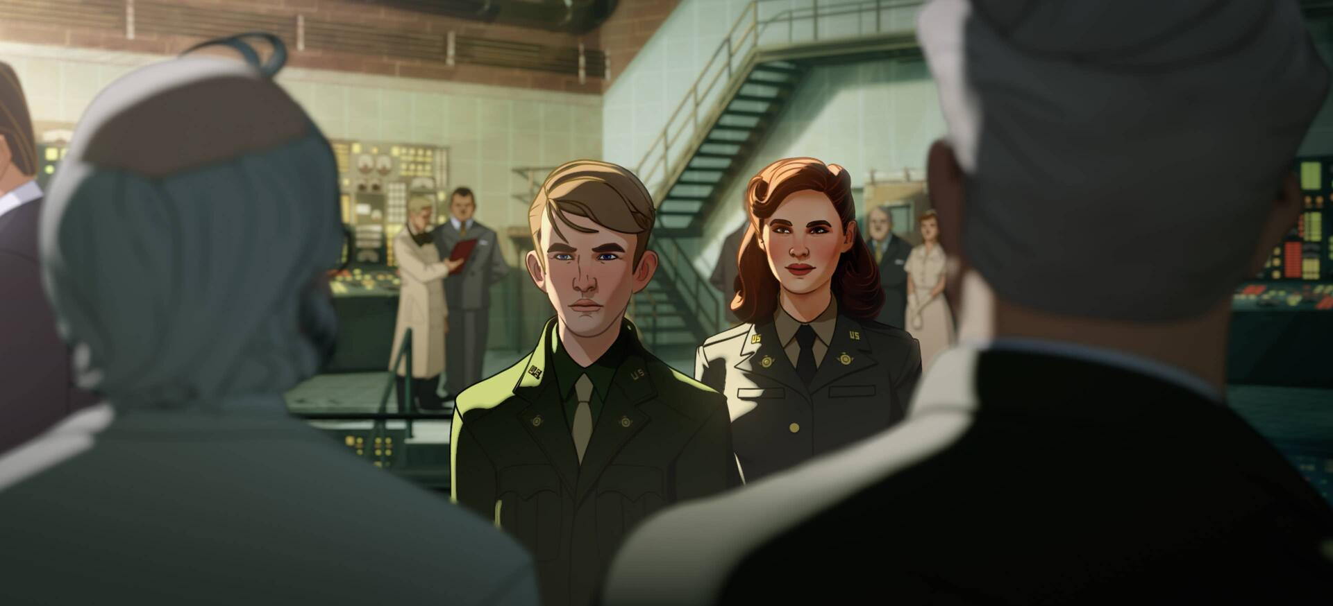 Steve Rogers and Peggy Carter | What If...?