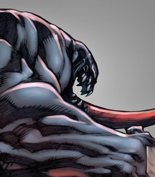 Venom Eddie Brock Card