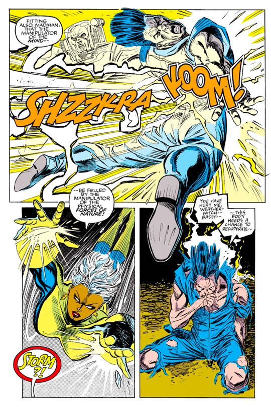 Shadow King has always held a rather unhealthy fixation on Ororo Monroe, AKA Storm