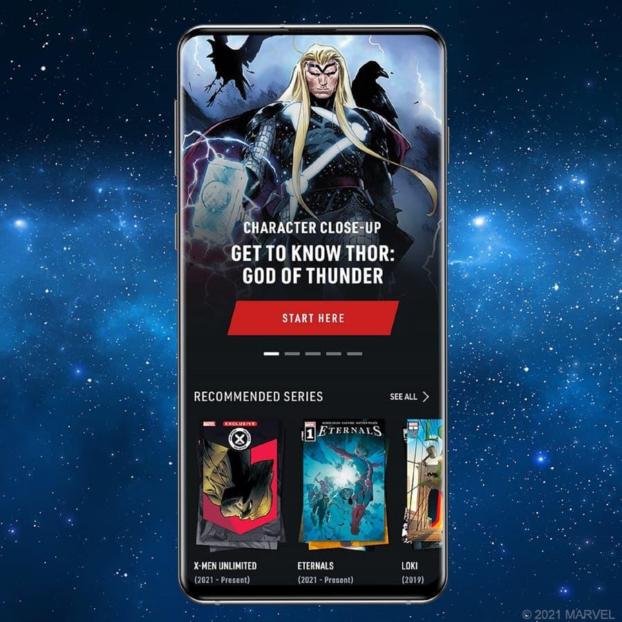 New App Homescreen
