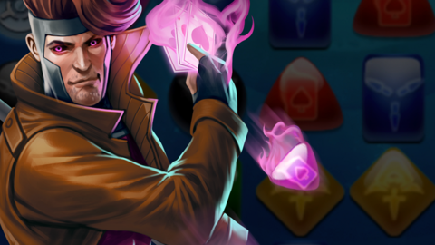 Image for Piecing together Marvel Puzzle Quest: Gambit