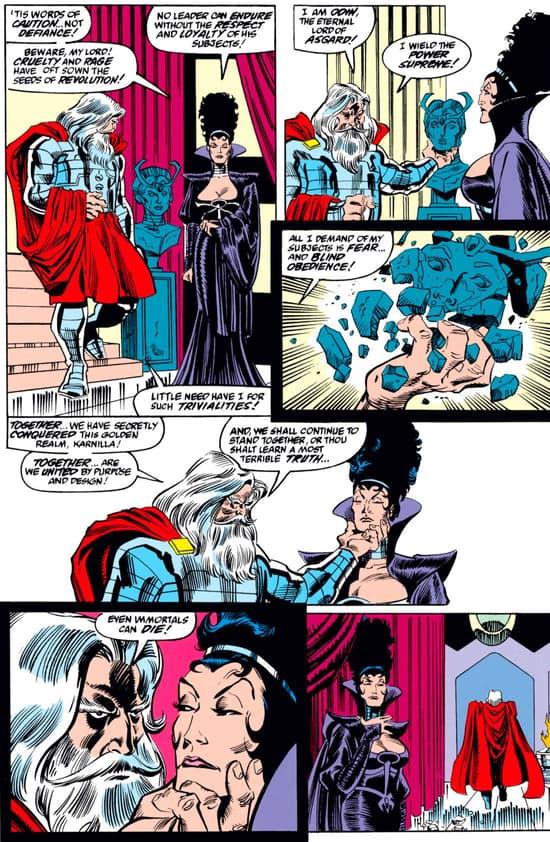 marvel comics odin force