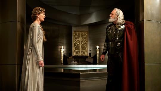 Odin and Frigga