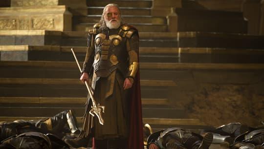 Odin ready for battle