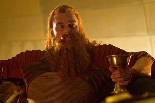 Volstagg at the feast