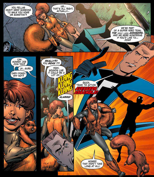 Squirrel Girl and The Great Lake Avengers