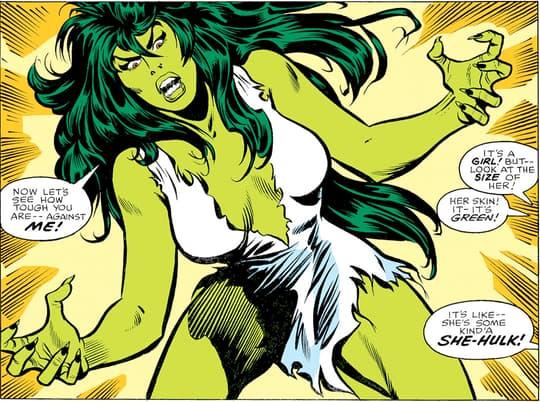 She-Hulk's first appearance