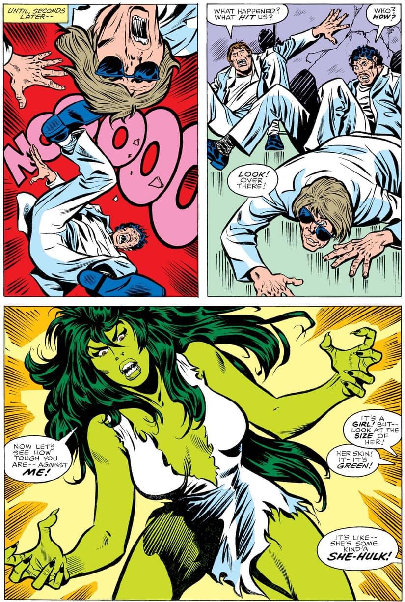 Today in Marvel History: She-Hulk Goes Gamma