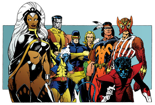 Thunderbird and the X-Men