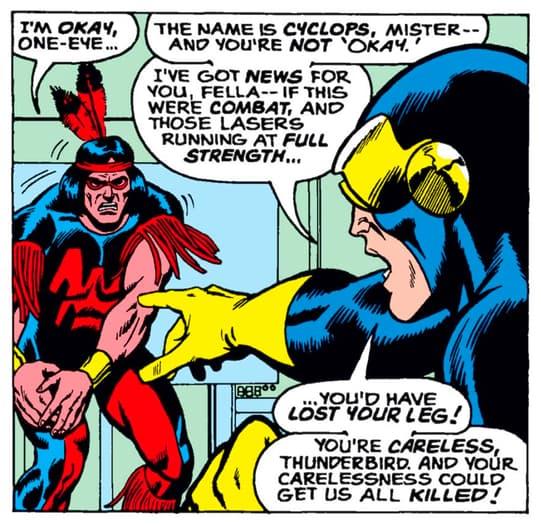 Thunderbird and Cyclops