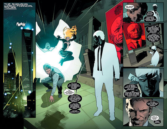 Mr. Negative with Parker