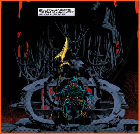 Corvus used a moon called the Black Quadrant as his home base and began to amass power.