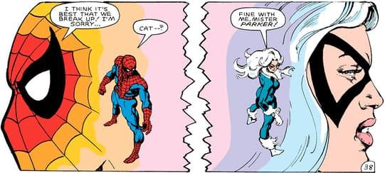 Black Cat & Spider-Man Break Up
