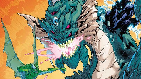 Image for Monsters Unleashed: Poison Fin Fang Foom Means Big Trouble