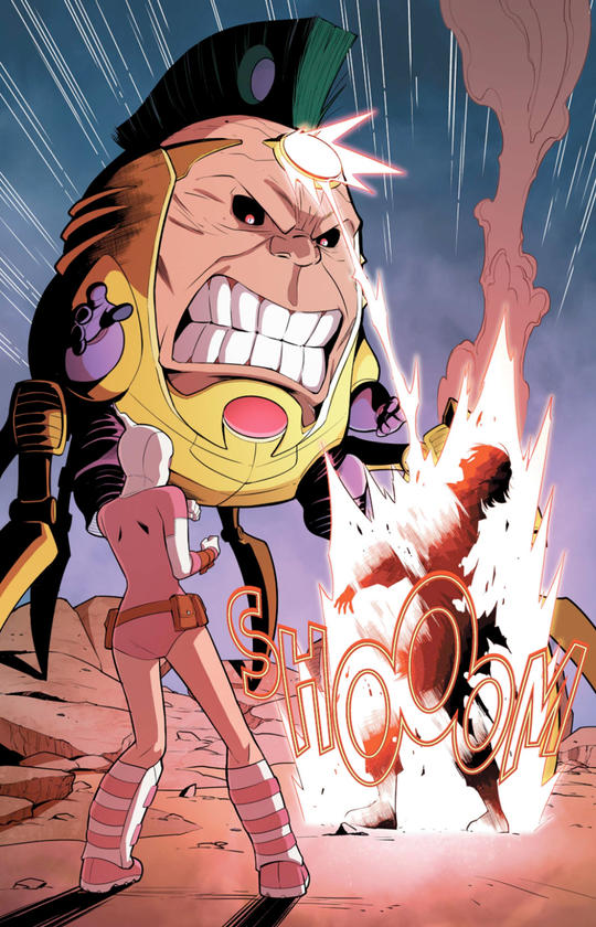 M.O.D.O.K and Gwenpool