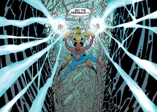 Shocker fighting Spider-Man