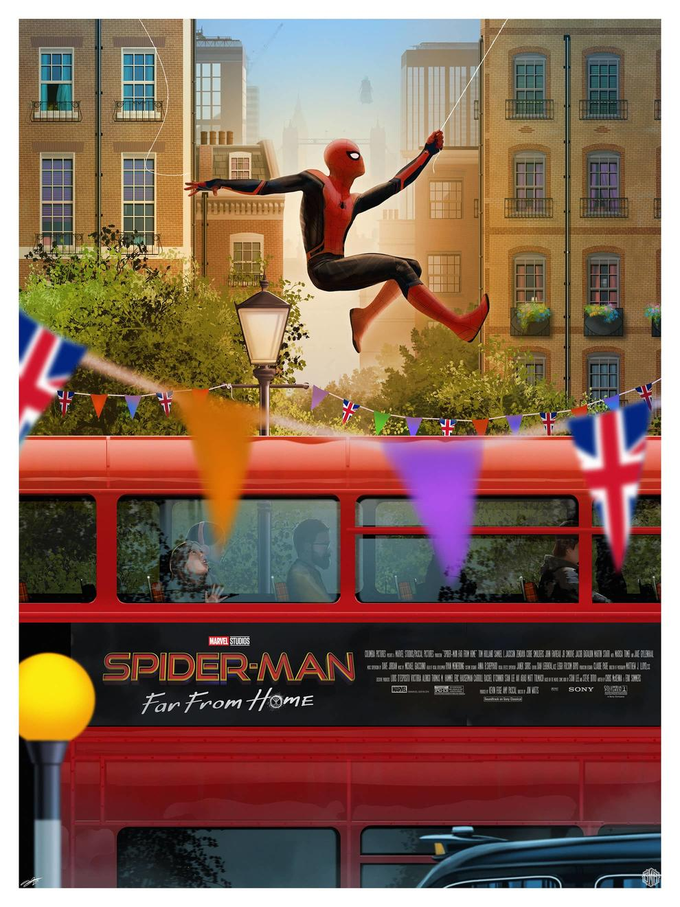Spider-Man Far From Home by Andy Fairhurst