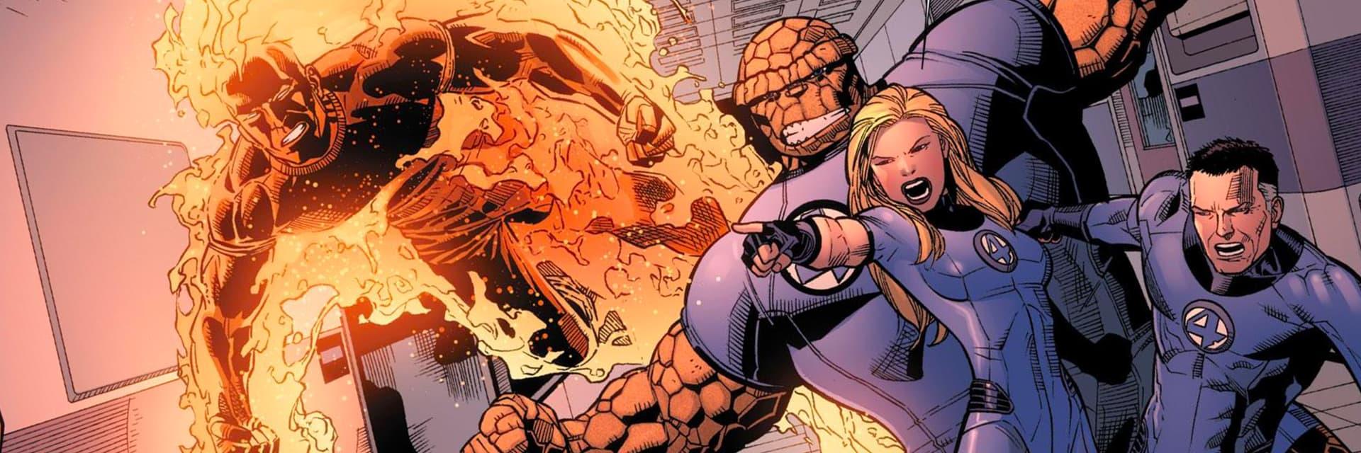 Fantastic Four In Comics Members Enemies Powers Marvel