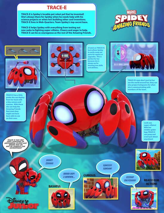Marvel's Spidey and His Amazing Friends - Trace-e