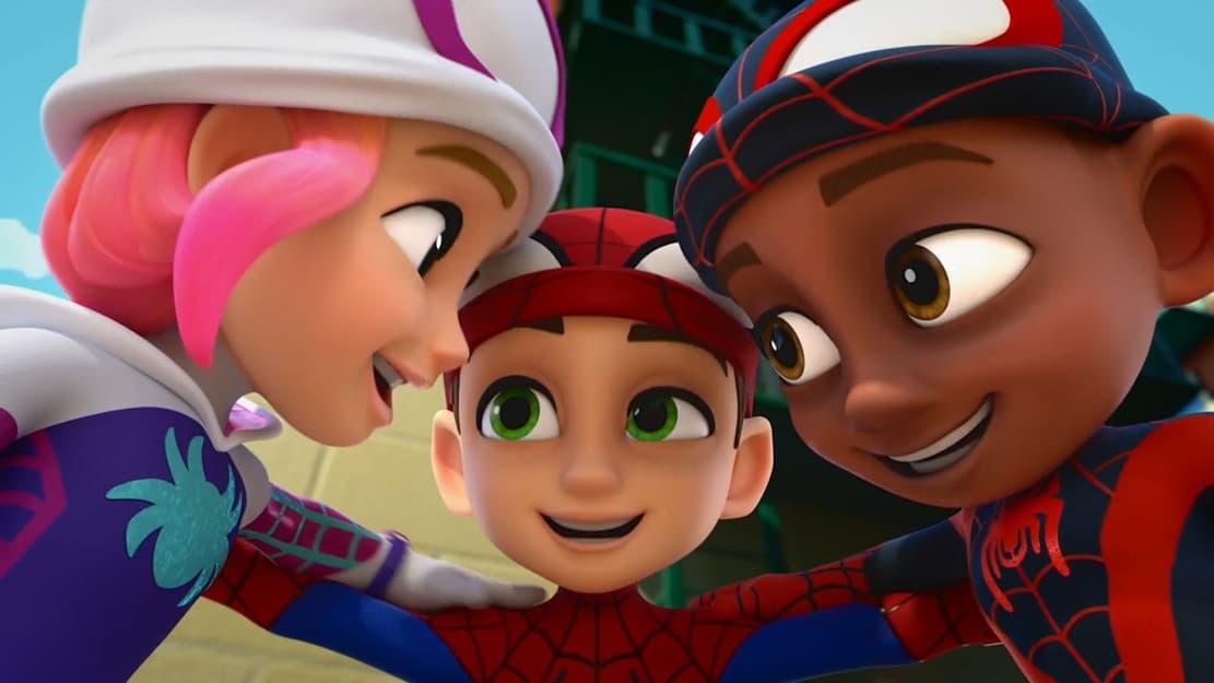 Team Spidey (Gwen, Peter, Miles)