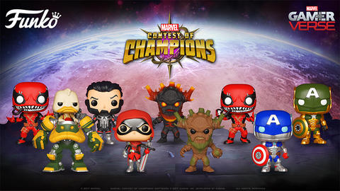 Image for 'Marvel Contest of Champions' Funko Pop! Figures Revealed