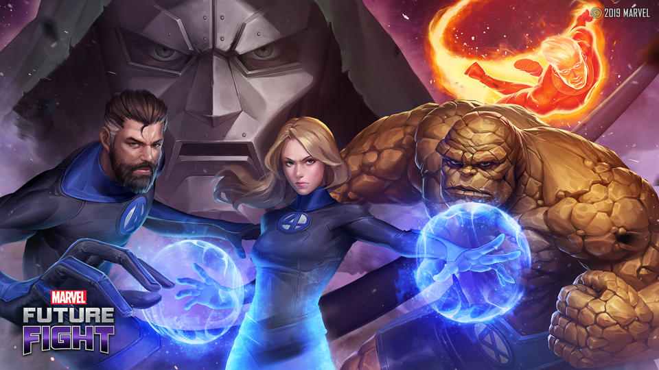 Marvel Future Fight - Fantastic Four Event