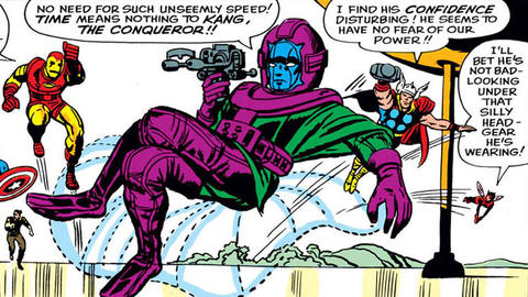Image for Kirby 100: Kang, the Conqueror