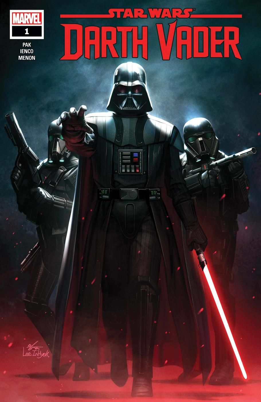 STAR WARS: DARTH VADER #1 cover by In-​Hyuk Lee