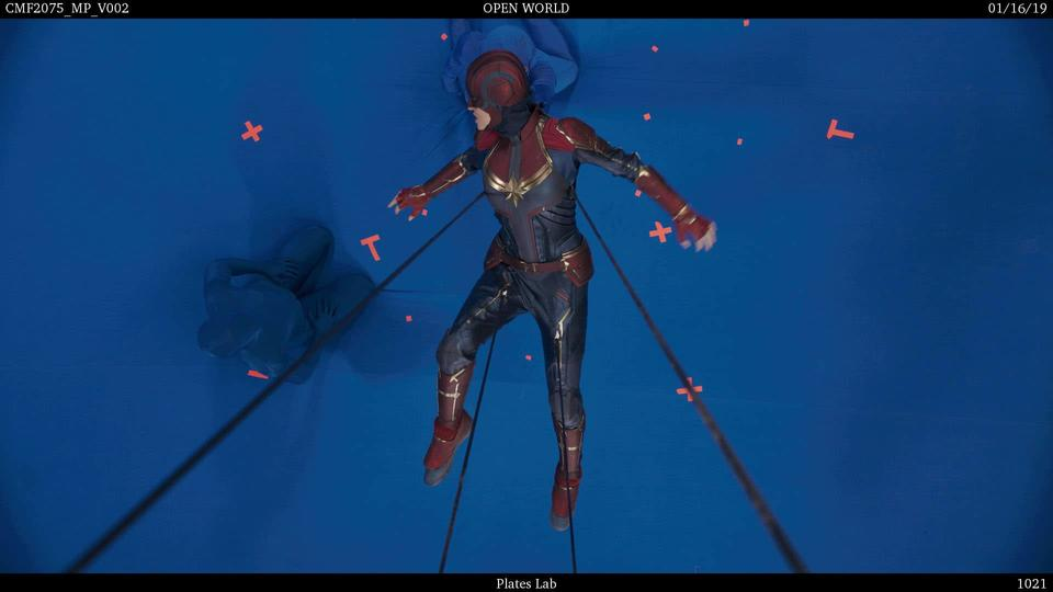 Captain Marvel VFX Fall