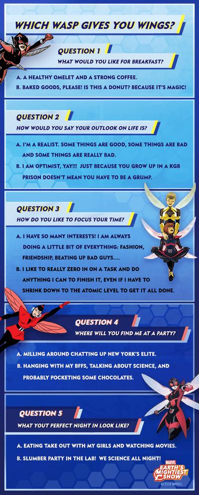 Wasp Quiz
