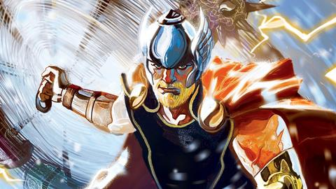 Image for The God of Thunder is Back in Thor #1