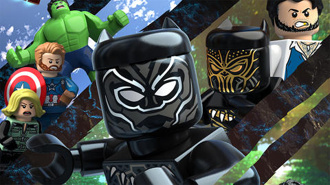 Image for See the Teaser for 'LEGO Marvel Super Heroes – Black Panther: Trouble in Wakanda'