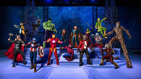 Image for Marvel Universe LIVE!