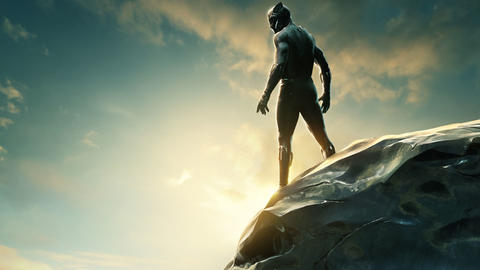 Image for New Marvel Studios' 'Black Panther' Poster Revealed at San Diego Comic-Con