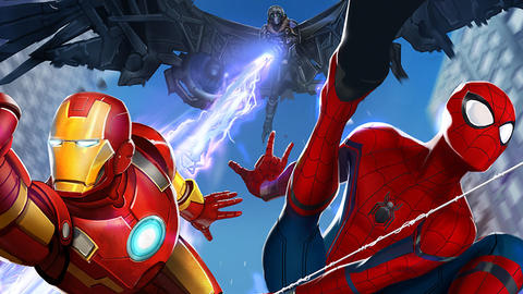 Image for Spider-Man Returns as Vulture Attacks 'Marvel Avengers Academy'