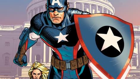 Image for The Original Captain America Returns