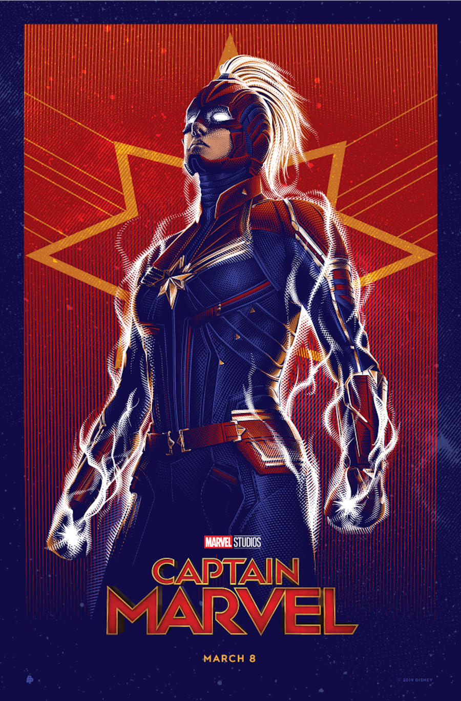 Captain Marvel video by Tracie Ching