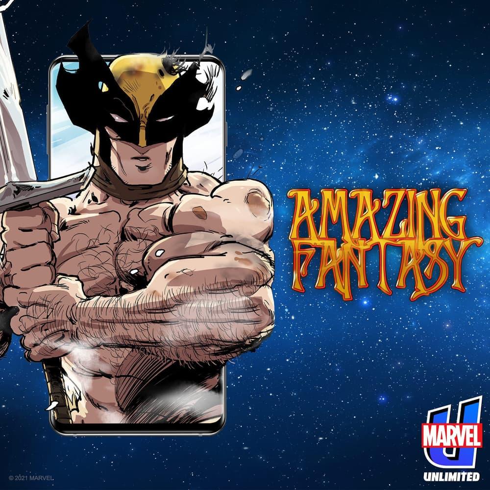 Wolverine stars in AMAZING FANTASY!