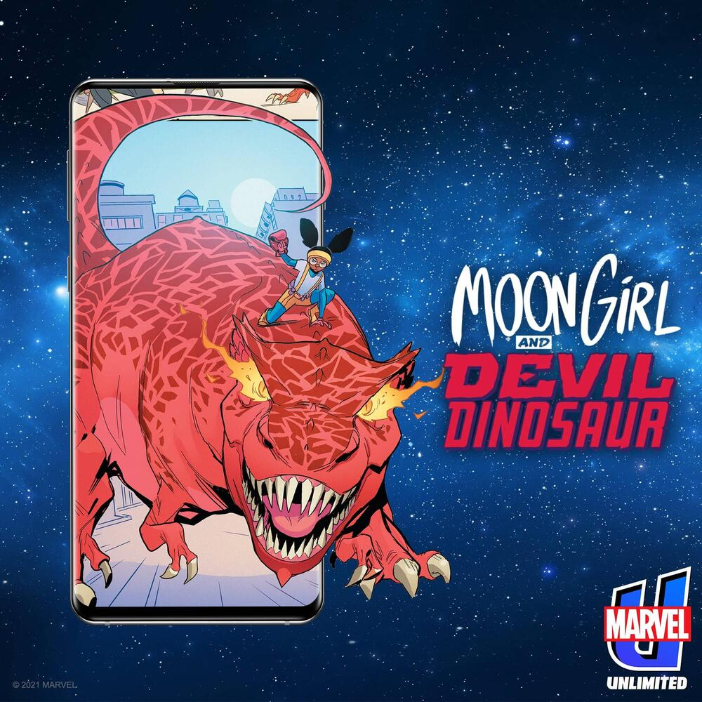 Get to know Moon Girl and Devil Dinosaur!