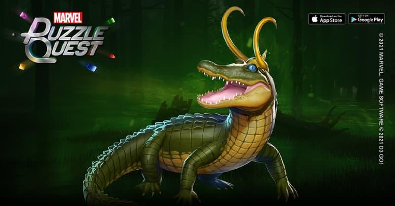 Loki, the Alligator of Mischief