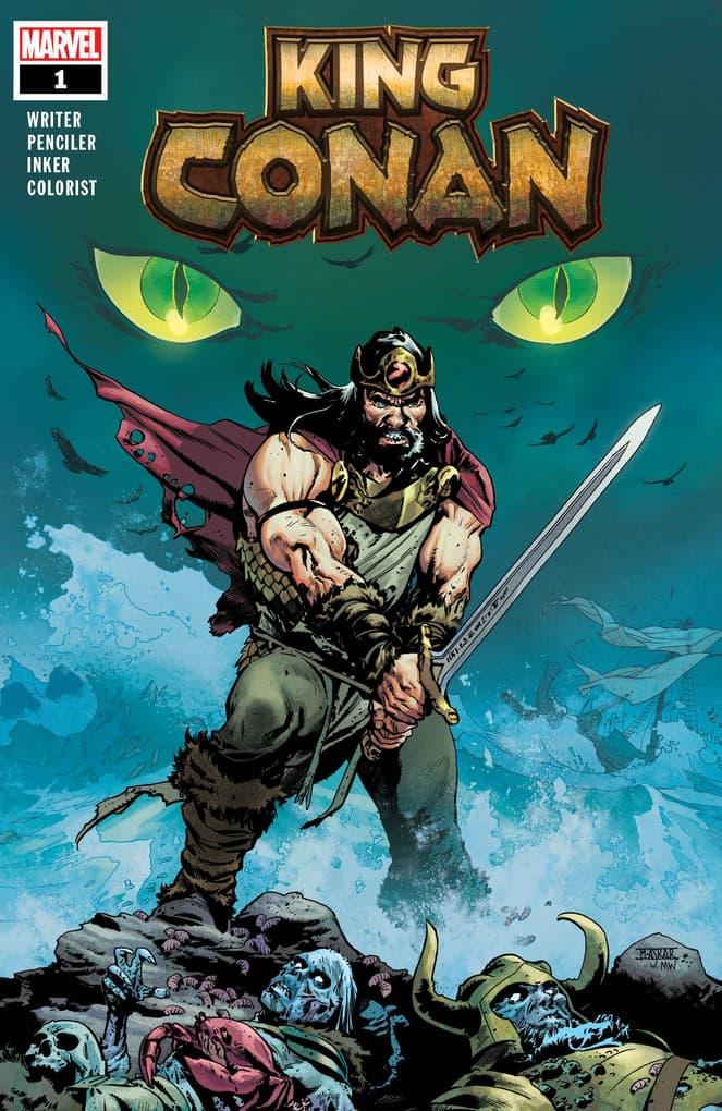 KING CONAN #1 cover by Mahmud Asrar