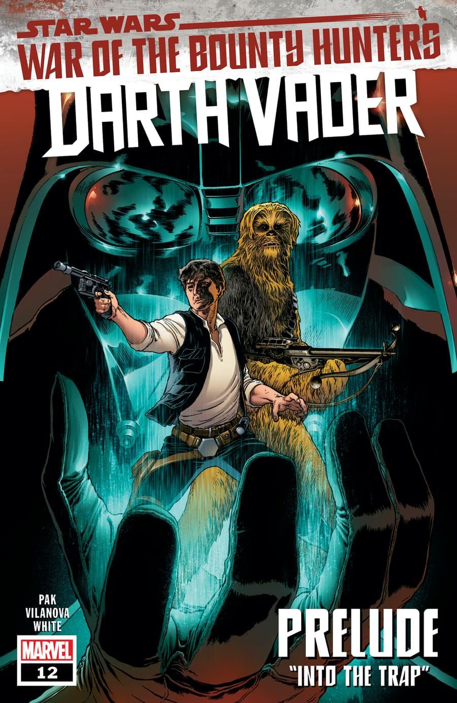 STAR WARS: DARTH VADER #12cover by Aaron Kuder