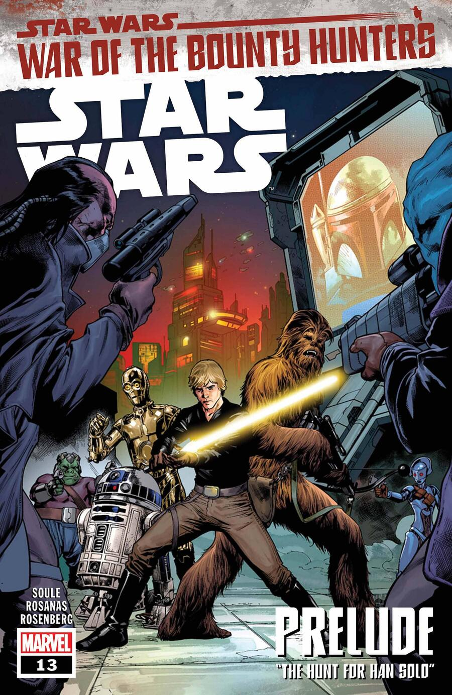 STAR WARS #13 cover by Carlo Pagulayan