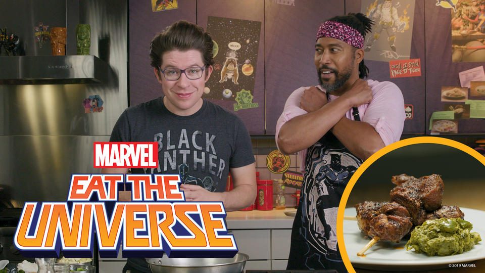 Watch a Black Panther-Inspired Eat the Universe with Guest James Mathis III