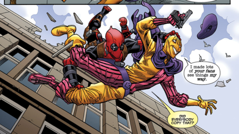 Image for Mike Hawthorne Is the Most Prolific Deadpool Artist Ever