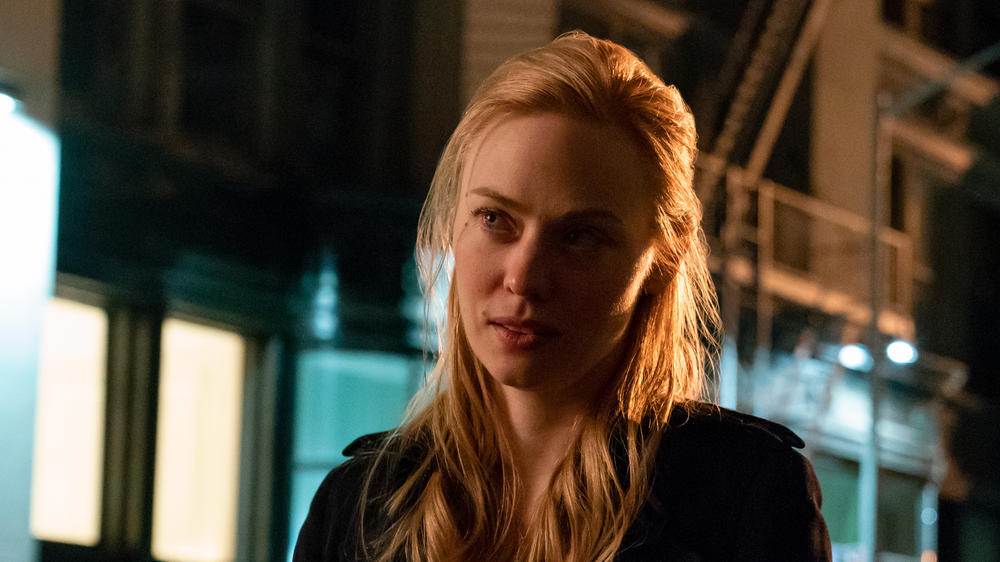 "Deborah Ann Woll as Karen Page in ""Marvel's Daredevil"" Season 3"