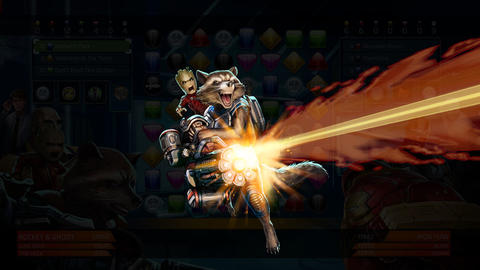 Image for Piecing Together Marvel Puzzle Quest: Rocket & Groot