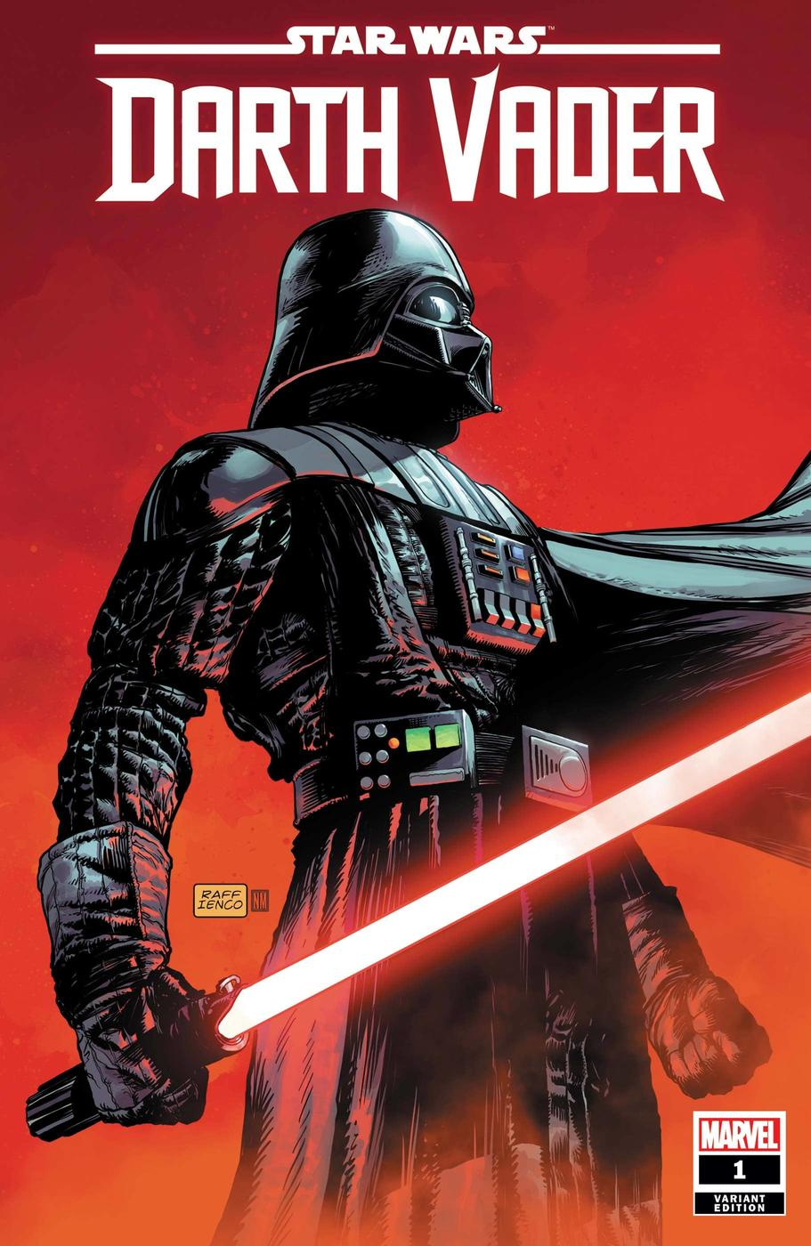 STAR WARS: DARTH VADER #1 variant cover by Raffaele Ienco